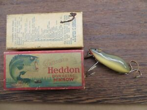 VINTAGE HEDDON 4000GM MOUSE LUREPLUG IN VG+ COND & A VG+ CORRECT BOX TOO!