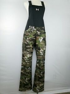 Under Armour Women UA Stealth Bib 1282692-947 Forest Hunting Camo Large L  $170