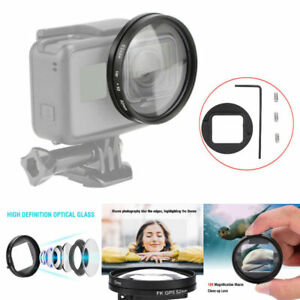 52mm 10x Magnifier Magnification Macro Close Up Lens for GoPro Hero 65 Camera