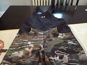WOMENS Under Armour STORM FOREST CAMO HUNT Hunting BIB OVERALLS SIZE M NWT $170