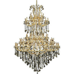 2800 Maria Theresa Collection Chandelier D:72in H:96in Lt:85 Gold Finish (Swa...