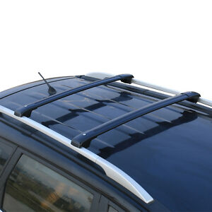 For Ford Explorer 2013-2016 Car Top Roof Rack Cross Bars Luggage Carrier Black