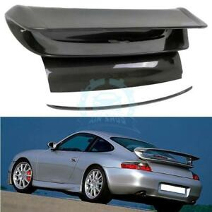 Carbon Fiber Rear Trunk Spoiler Boot Wings Rear Cover For Porsche 911 996 05-11