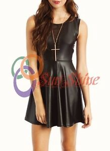 Spring Designer Lamb New Leather Women Dress Cocktail Stylish Party Wear  D-174