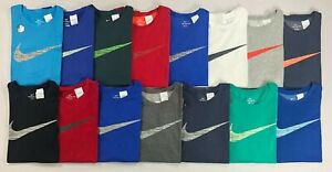 Mens Big and Tall Nike Dry Dri Fit Athletic Cut Cotton Tee T Shirt $21.99