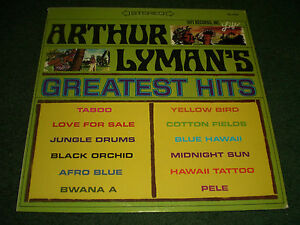 Arthur Lyman's Greatest Hits~1965 Island Easy Listening Jazz~FAST SHIPPING!!!