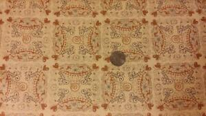 When Pigs Fly Collection Beige Quilting Square Cotton Fabric By Nanette Hilton $7.00