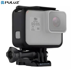 For GoPro HERO7 Black Standard Housing Frame Mount Protective Cage Case w Screw