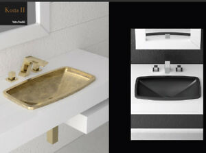 Glass Design Da Vinci built in sinks In Out built in sink Kosta2 KOSTA2PO01