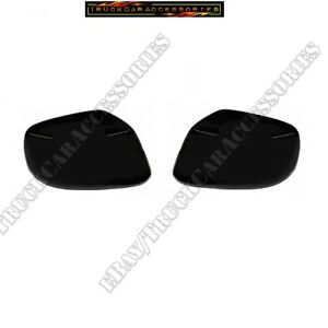 For NISSAN 2005 2016 Frontier 05 2012 Pathfinder Xterra 2 BLACK Mirror Covers