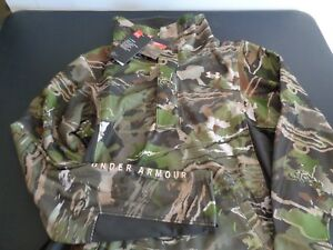 UNDER ARMOUR Women's EARLY SEASON Forest Camo Sweatshirt NEW Large FREE SHIPPING