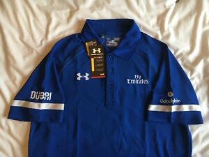Godolphin Under Armour Polo - Size M - BNWT - Dubai Fly Emirates UAE