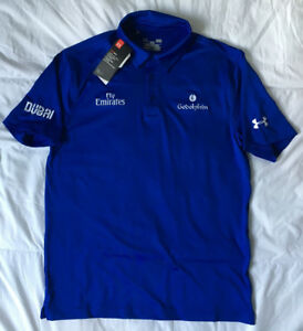 New Season Godolphin Under Armour Polo - Size L - BNWT - Buick James Doyle