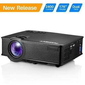 Projector PHONECT 2400 LUX 4Inch Mini Projector with 170