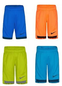 NEW Nike Boys DRY DRI-FIT Shorts Size 2 to 7 Multiple Colors