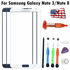 For Samsung Galaxy Note 8Note 3 Front Glass Lens Screen Replacement Repair Too