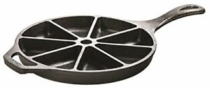 Lodge L8cb3 Cast Iron Cornbread Wedge Pan Skillet Scones Campfire Cookware USA