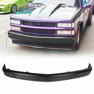 Primered Steel Front Bumper Face Bar for 1988-1998 Silverado Sierra C1500 K1500