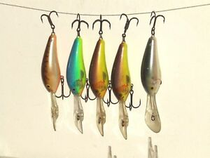 FIVE RAPALA DOWNDEEP 2-34