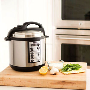 New BELLA 10-In-1 Multi-Use Programmable 6 Quart PRESSURE COOKER BLA14467