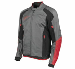 Speed & Strength Men's Sure Shot Textile Jacket Size 2XL RedBlack