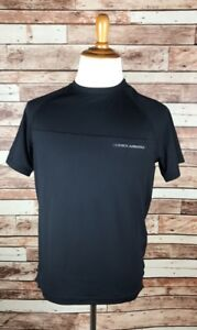 Under Armour Black UPF 50+ Men's Short Sleeve Dry-Fit Style T-Shirt NWT $45
