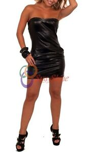 Spring Designer Lamb New Leather Women Dress Cocktail Stylish Party Wear  D-173