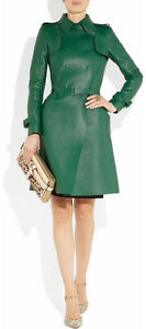 Spring Designer Lamb New Leather Women Dress Cocktail Stylish Party Wear  D-149