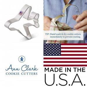 Ann Clark Airplane Cookie Cutter - 4.5 Inches - Tin Plated Steel