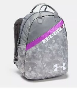 NWT!!! Under Armour Favorite Backpack 3.0 - Free Shipping!!! Gray Pink Girls