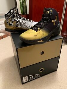Under Armour Curry Back 2 Back MVP Pack #1300015-001 Size 9.5; UA CURRY B2B PACK