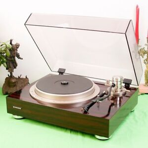 Pioneer PL-70LII Quartz-Locked Auto Lift Up Direct-Drive Turntable (SERVICED)