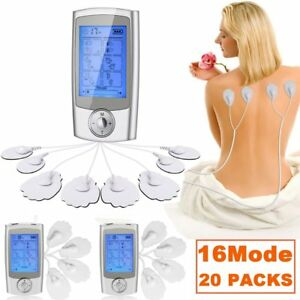 20 X TENS Unit 16 Modes FDA Cleared Electric Digital Pulse Massager Therapy BE