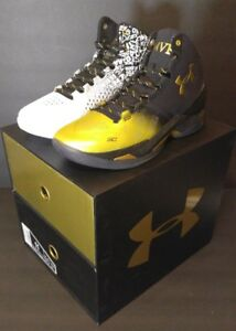 Under Armour Steph Curry Back 2 Back MVP Pack #1300015-001 Sz 11 (NEW w Box)