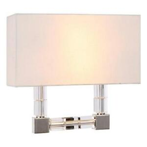Elegant Lighting 1461W13PN 1461 Cristal Collection Wall Sconce W:13in H:12in ...