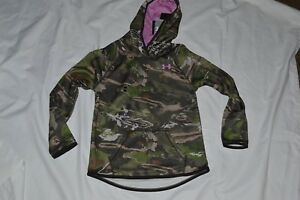 UNDER ARMOUR HOODIE GIRL'S YOUTH MED 10-12 YMD NWT HOOD AND BODY LINED