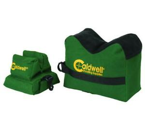 Caldwell Rifle Shooting Sand Bag Rest Set Front-rear Shooting Support Unfilled