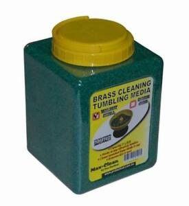 Max-clean Brass Case Tumbler Media For Cleaning Case Treated Corn Cob