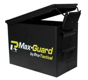 Max Guard Ammo Can Fat Fifty Saw Military Style Shooting Ammo Box Case Pa108
