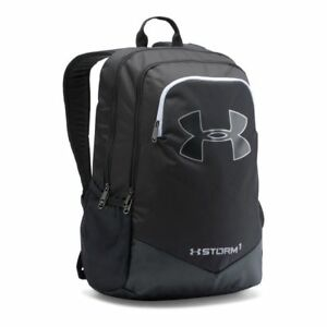 Under Armour NWT Storm Scrimmage Backpack School Bag Silver Black 1277422 $34.01