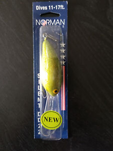 Norman Lures - Dives 11-17ft Silent DD22 182 Watermelon Seed
