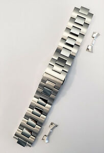 Movado BOLD 22mm Model MB-01-1-14-6135 Silver Color Watch Band Link Bracelet