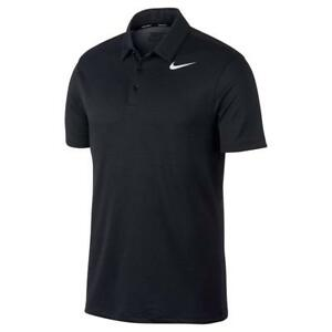 NIKE Dry Fit Textured Golf Polo 2017