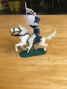 Toy Soldiers Plastic 54mm Mexican Lancer Painted Detailed Elastolin ? W.Germany