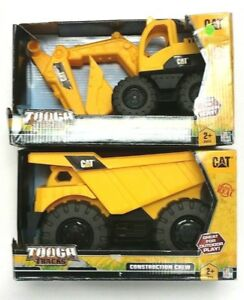 Caterpillar CAT Tough Tracks Construction Crew Excavator & Dump Truck - Set 2