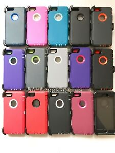 New Defender Case With Belt Clip & Screen Protector For iPhone 6  6S  Plus