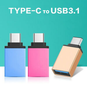 USB-C 3.1 Type C Male to USB 3.0 Adapter OTG Data Sync Charging Cable