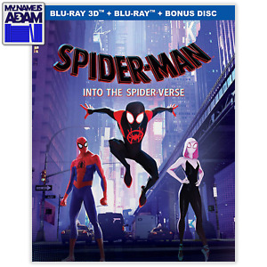 SPIDER-MAN: INTO THE SPIDER-VERSE 3D + 2D (REGION FREE) PRE-ORDER