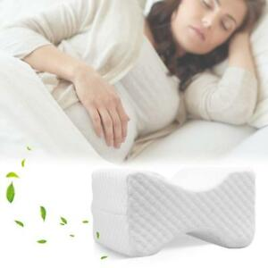 Memory Foam Knee Leg Pillow Bed Cushion Pressure Relief Sleep Support Aid NEW SD