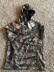 Under Amour, Real Tree, Camo Camouflage Hoodie, Youth Large, Pull Over, Pocket $43.98